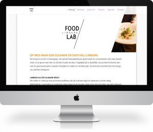 Webdesign FoodLab Limburg